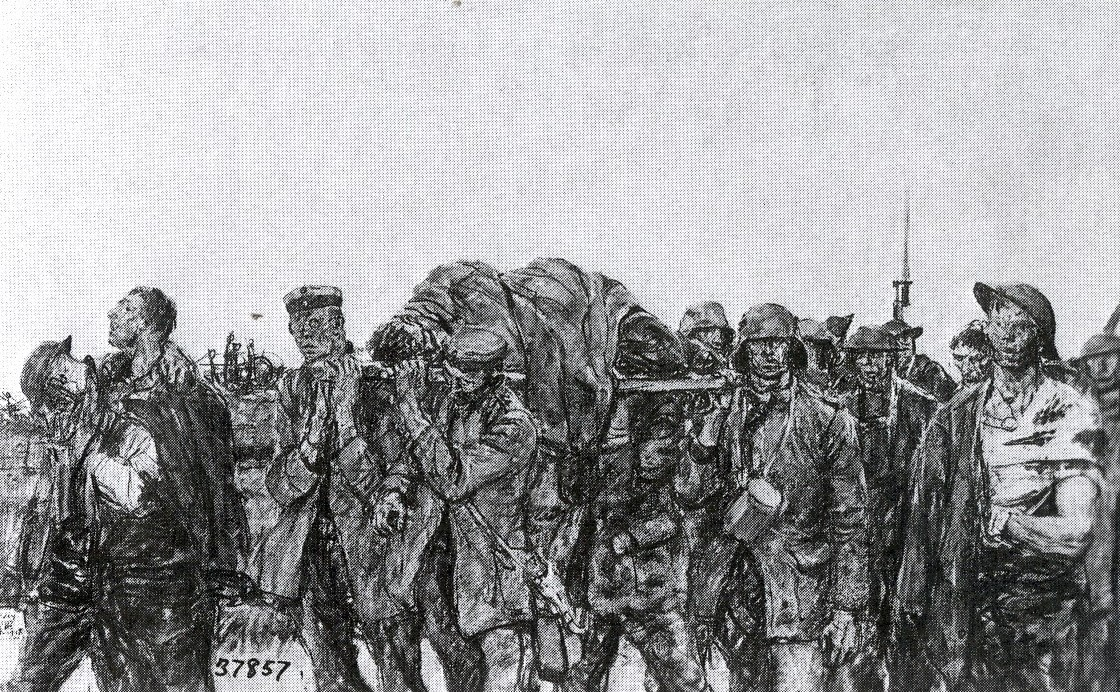 37857 Prisoners and Wounded