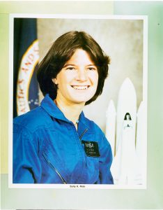 FEMALE ASTRONAUT CANDIDATES - SALLY K RIDE