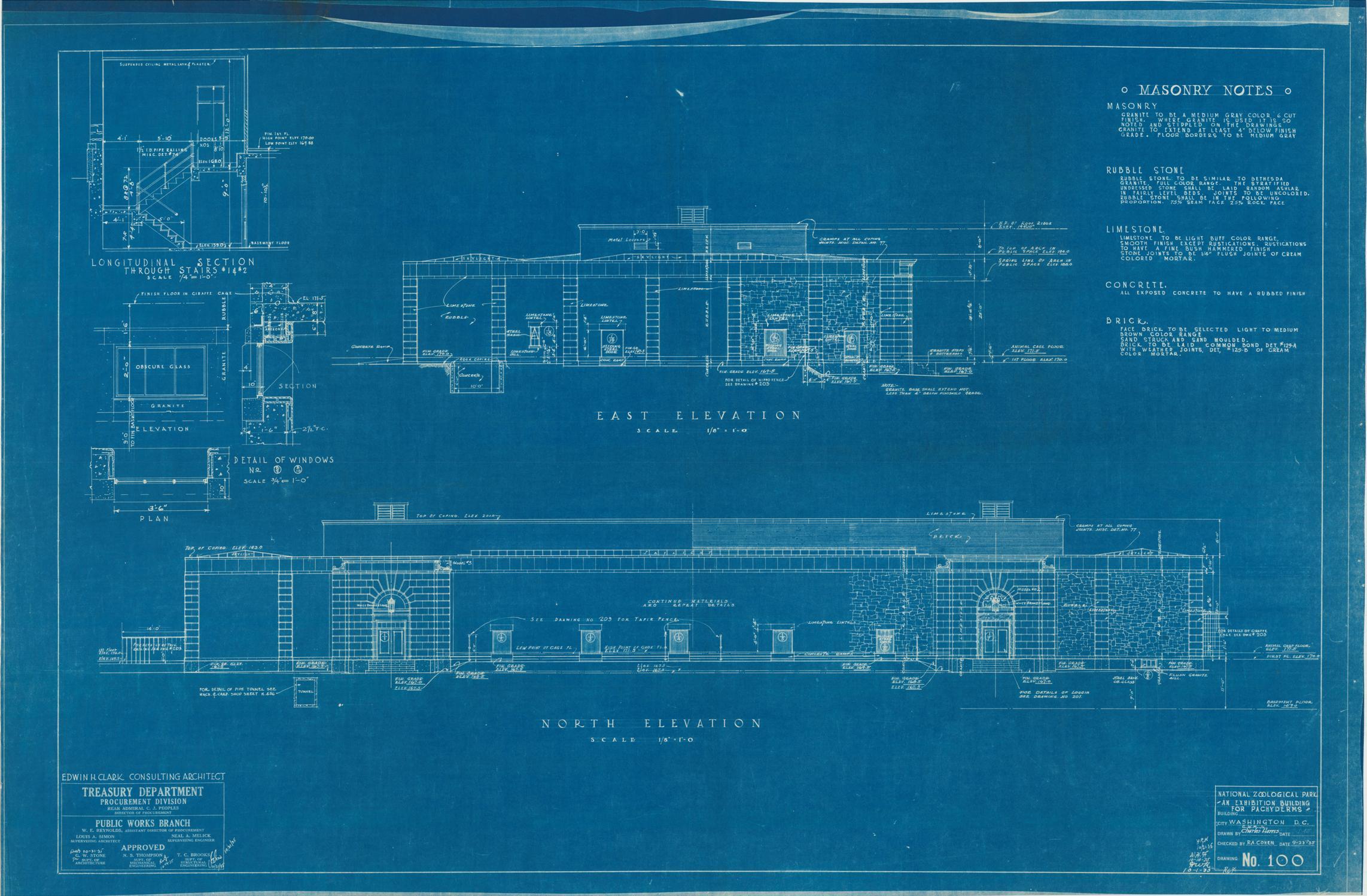 RG 121, Consolidated File, Washington, DC, National Zoo, #1