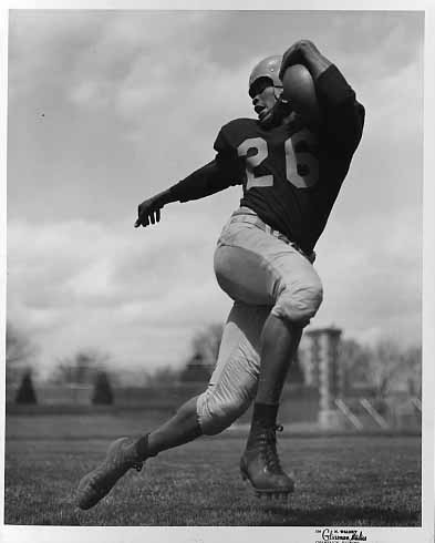 J.C. Caroline, of the University of Illinois, drafted in 1956