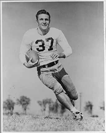 Doak Walker of Southern Methodist University, drafted in 1949