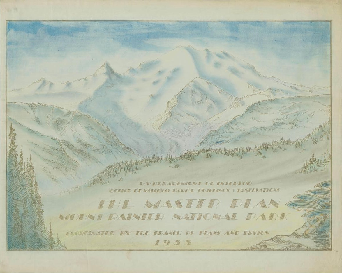 RG79_NPSMasterPlans_MountRainier_1933cover