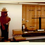 Smokey the Bear Statue, Pagosa-Piedra Ranger Office, San Juan National Forest.