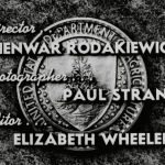 "Opening Credits for ""It's Up to You"" (208.50) showing Director, Photographer, and Editor"