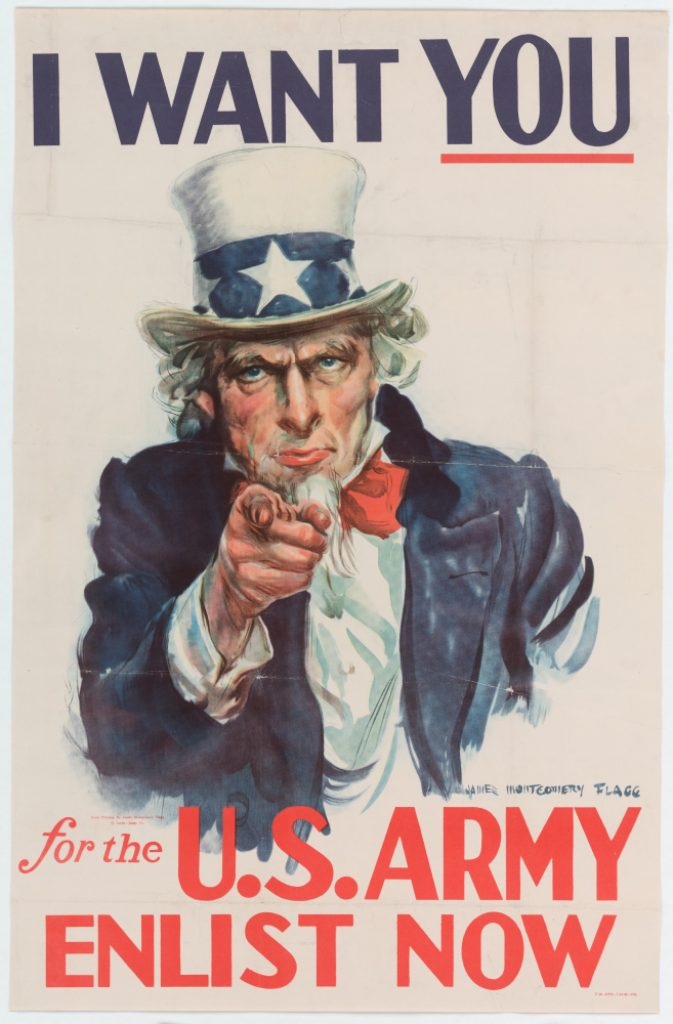 """I Want You For The U.S. Army Enlist Now"""