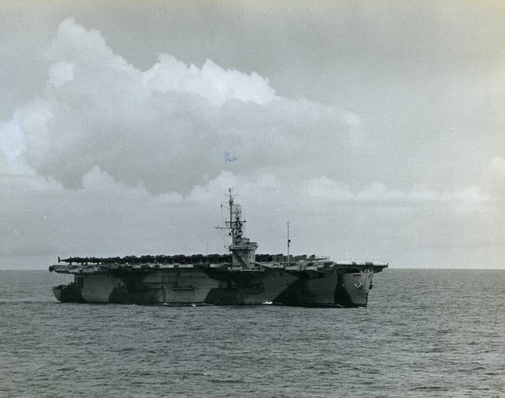 Photograph of a Ship at Sea